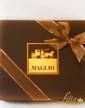 MAGLIO Chocolate with whole hazelnuts and almonds